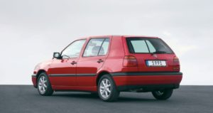 Volkswagen Golf 3 – o masina premiata in anul in care a aparut